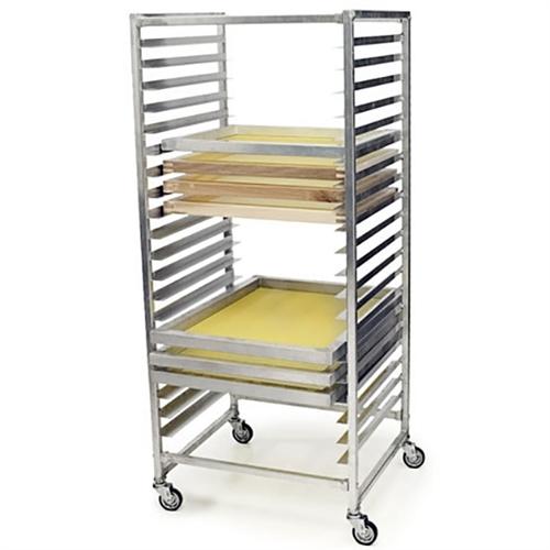 rolling screen rack for screen drying