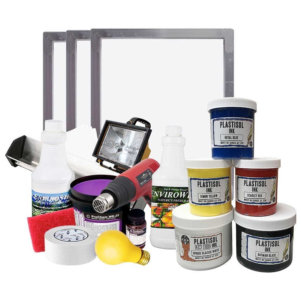 The Ultimate Plastisol Printing Kit