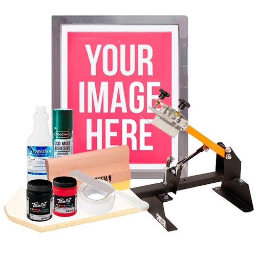 The Print Wiz Screen Printing Kit